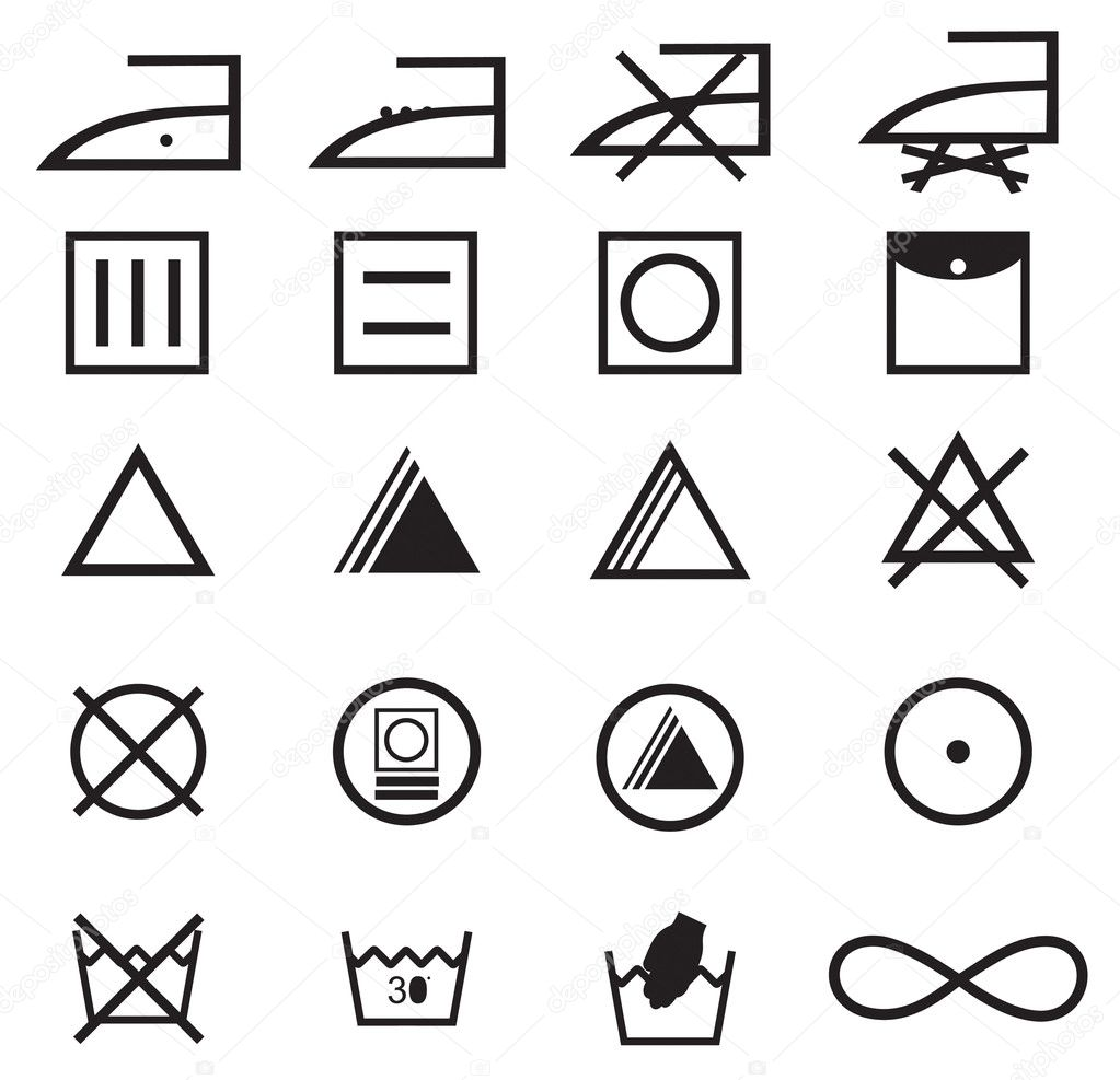 Fabric Care Symbols Nyustraus Exaple Resume And Cover Letter