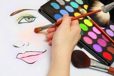 Makeup Sketching