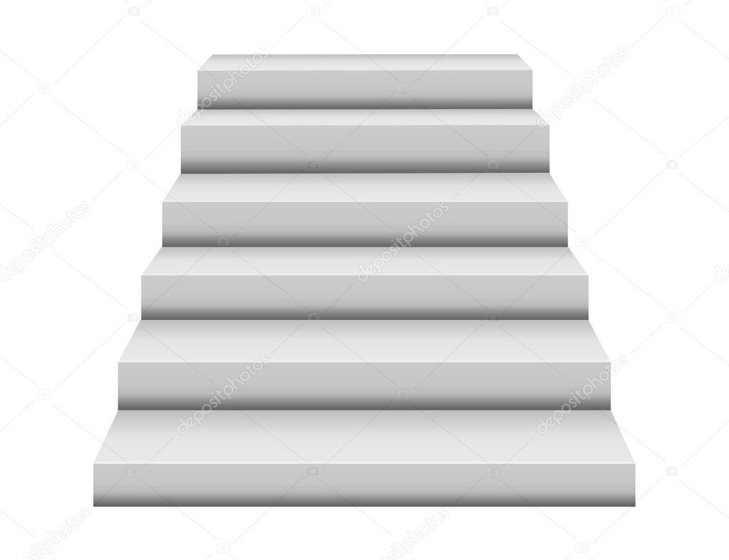 Steps illustration