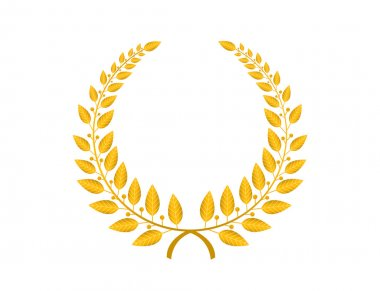 Laurel wreath illustration