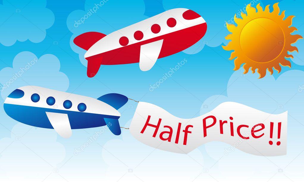 Vettore cartone aereo rosso cartoni animati aerei u vettoriali