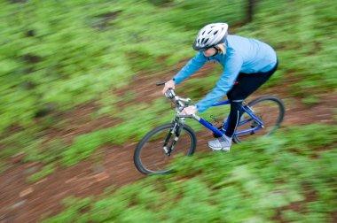 Spring bike riding