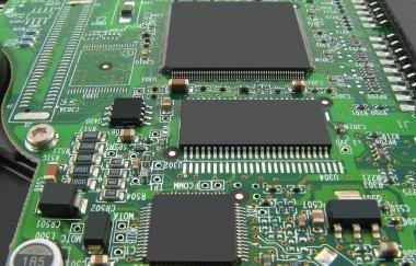 Microcircuit board.