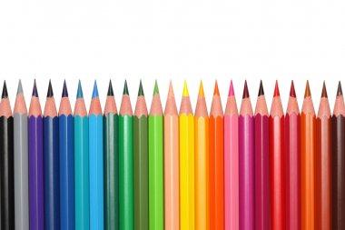 Colored pencils.