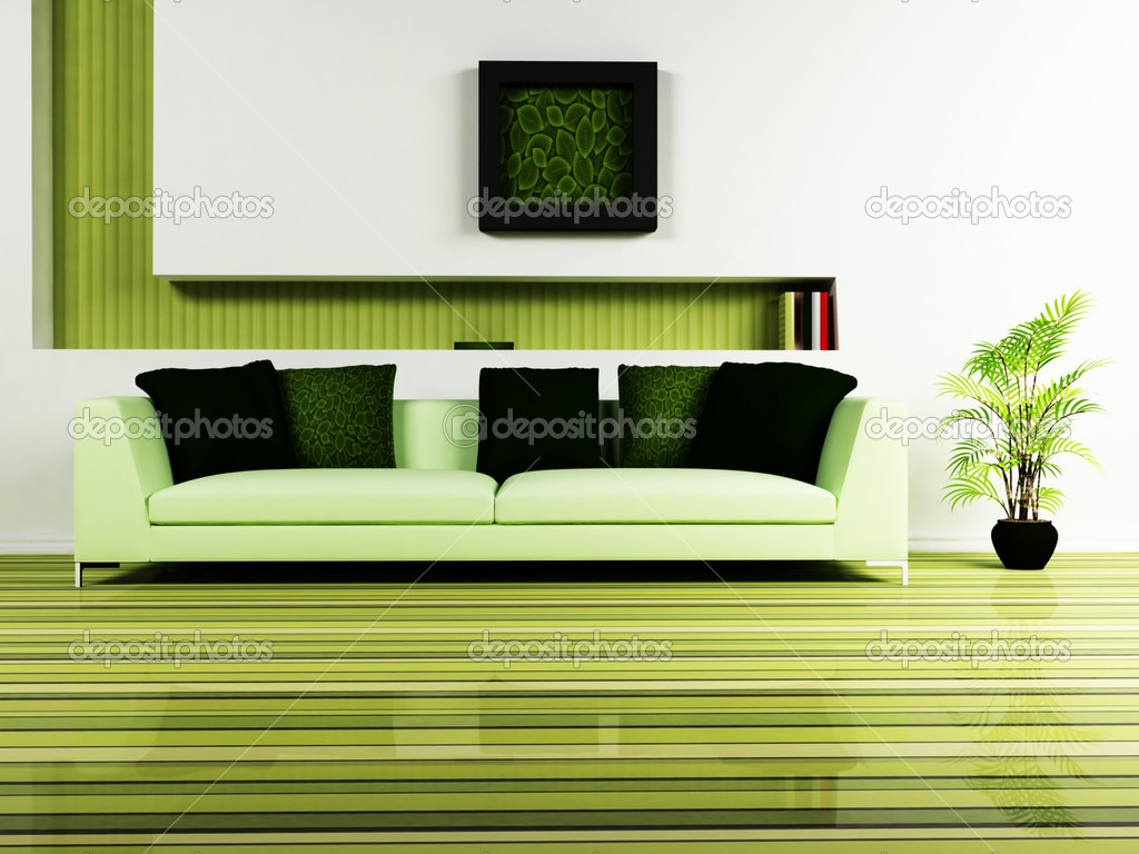 Modern Interior Design Of Living Room Stock Photo Minerva86 5747325