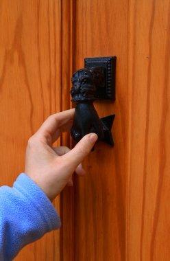 Knocking the door