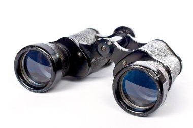 Used black binoculars