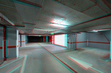 Underground parking exit/entrance