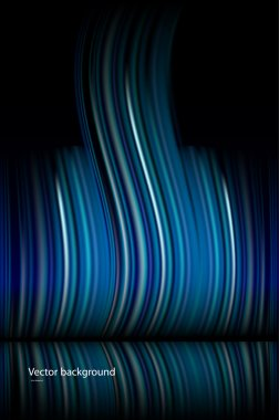Abstract dark blue vector background