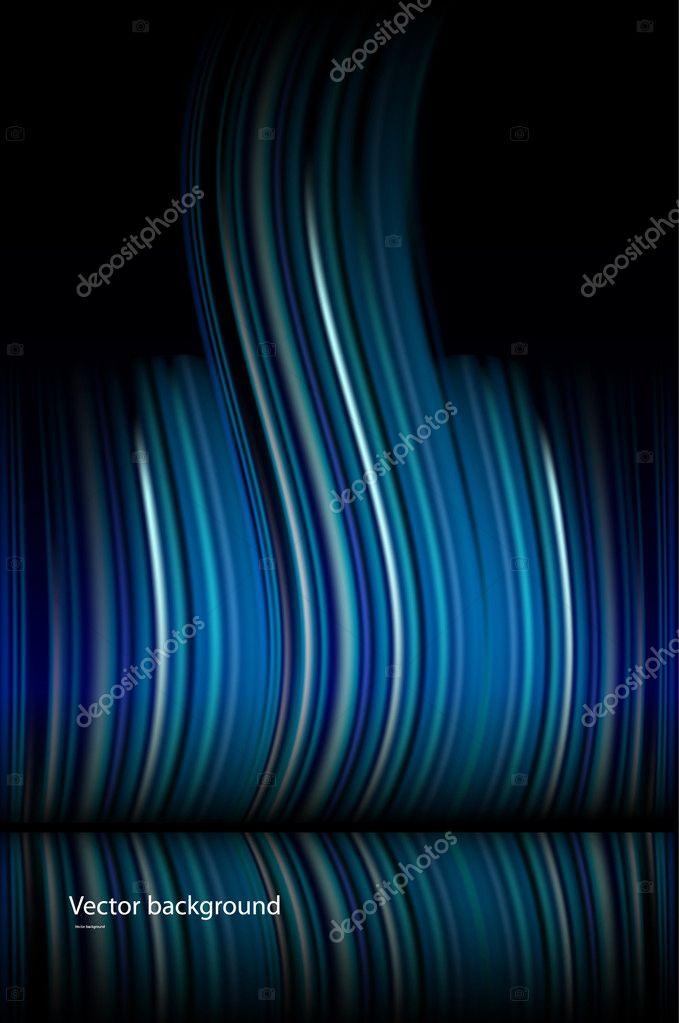 Abstract dark blue vector background