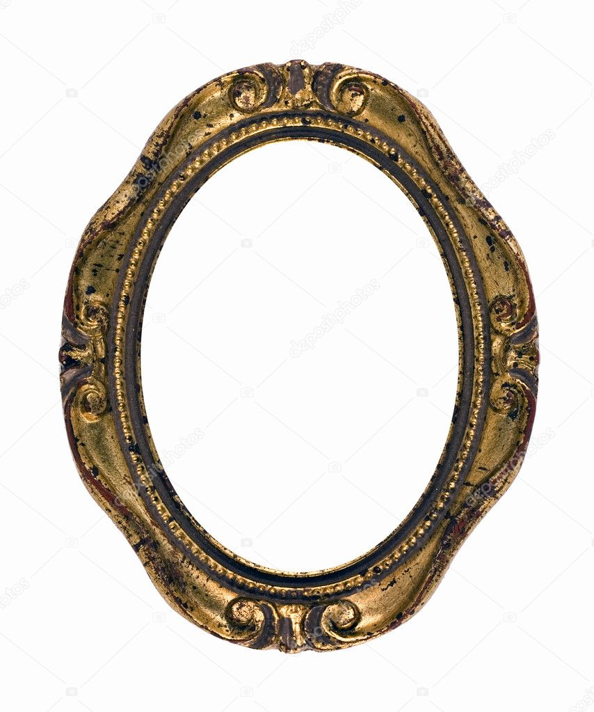 Oval vintage gold ornate frame stock photo ninamalyna 5821715 oval vintage gold ornate frame stock photo jeuxipadfo Images