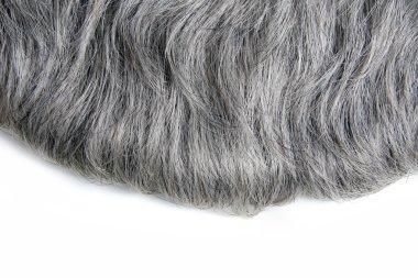 Grey hair stock vector