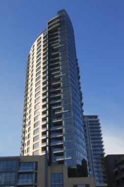 New condominium complex high rises, Portland OR.