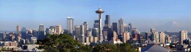 A panorama of Seattle Washington.