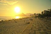 Fotografie Ipanema beach rio de janeiro Brazílie