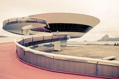 Niterói Contemporary Art Museum Rio De Janeiro Brazil