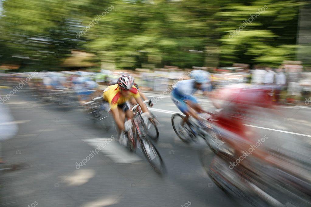 Speedy cyclists