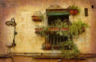Tiny balcony Lucca