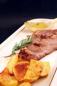 Fényképek hús steak