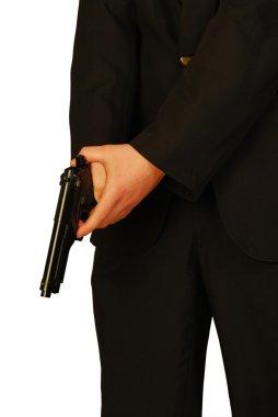 The gun of killerKiller