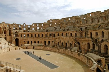 The Roman Coliseum of El Jem - Tunisia