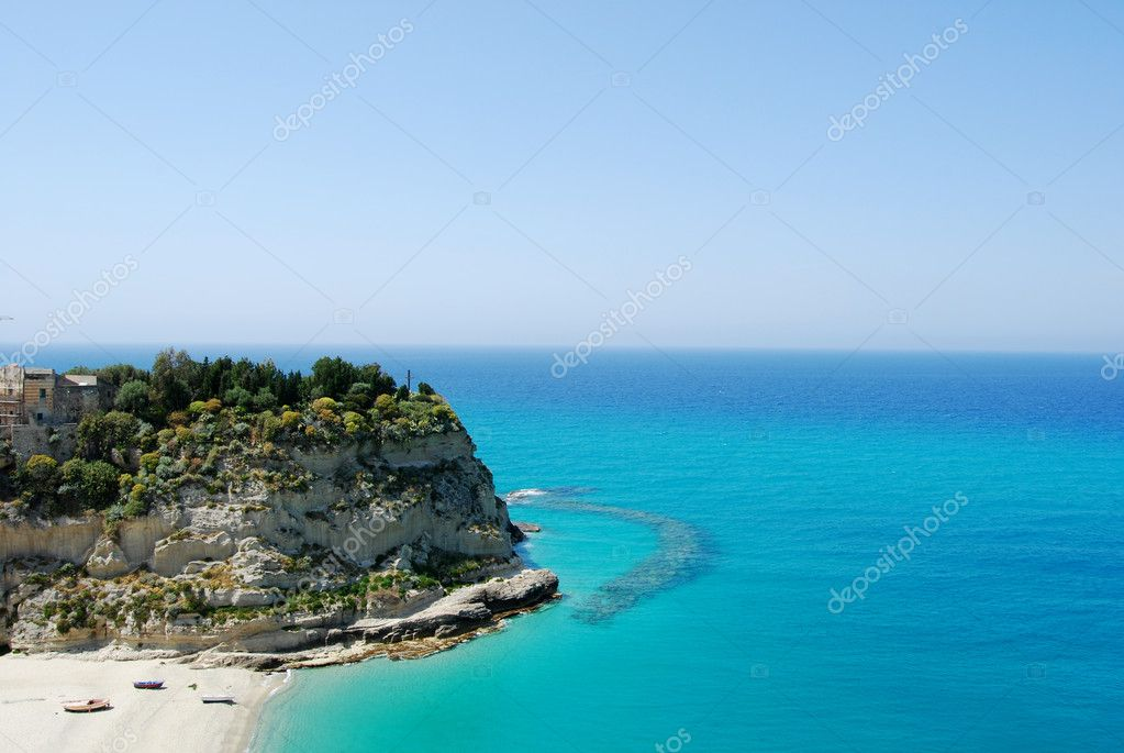 The rock of Tropea - Calabria