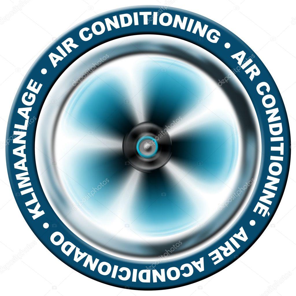 aire acondicionado — Foto de stock © catalby #6004417