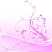 elegantní květinové pozadí