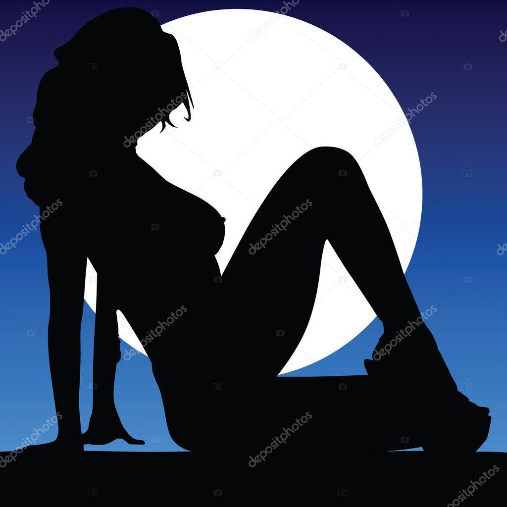 Moonlight lady hd porn pics
