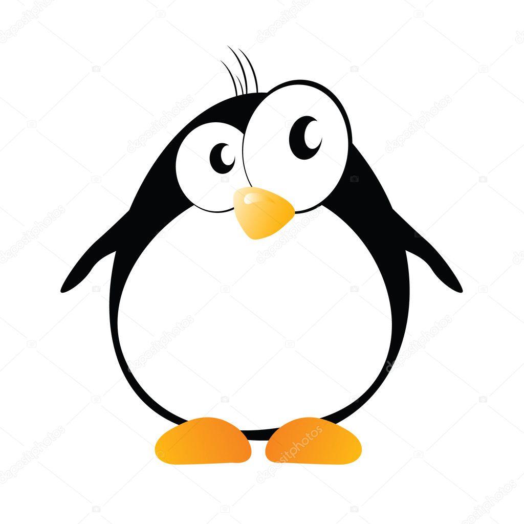 Грусти открытки, рисунки пингвина прикольные
