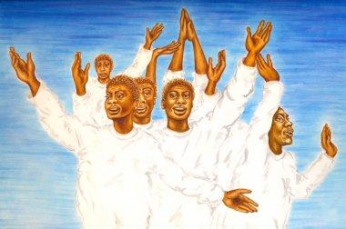 Gospel songs, black