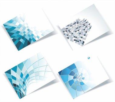 Vector business card se
