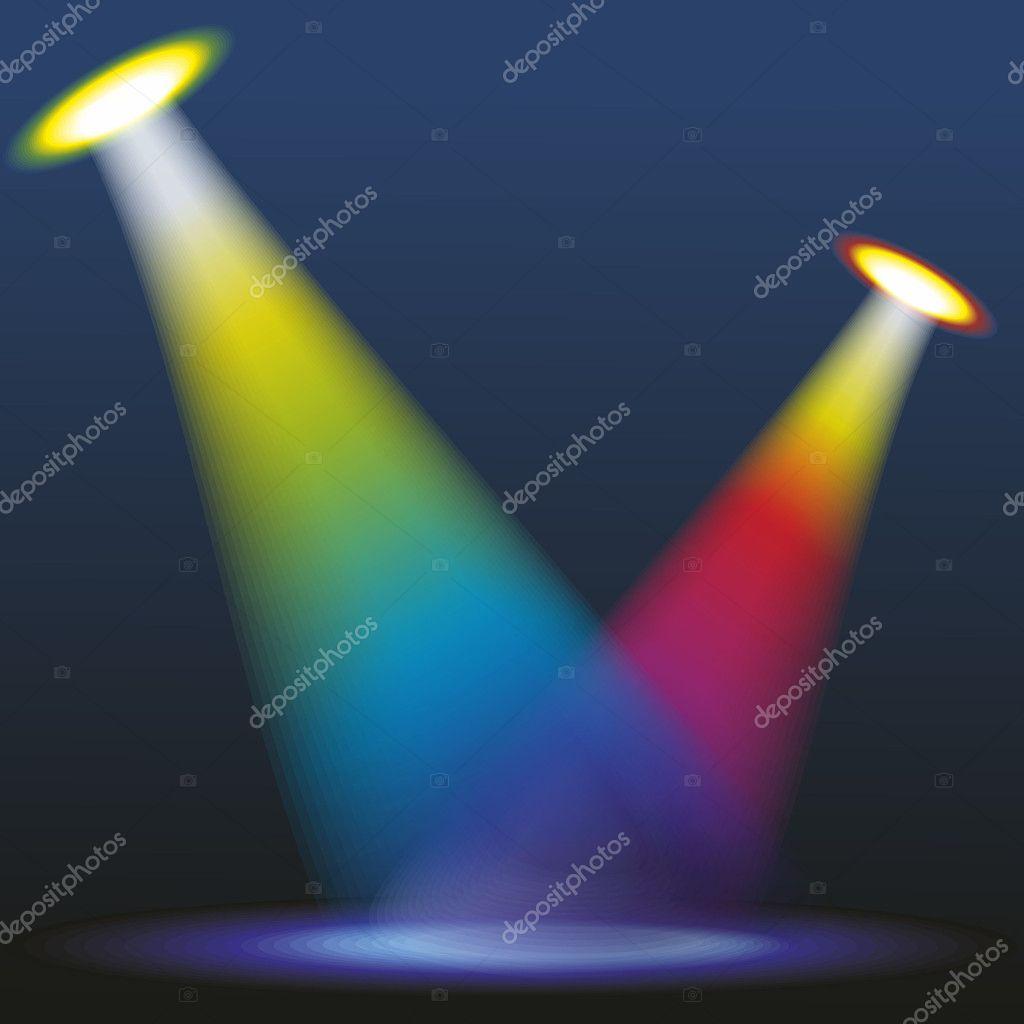 Color spotlights