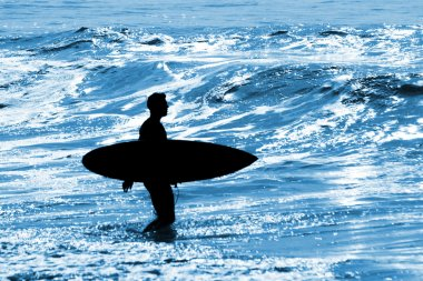 Summer vacations, surfing