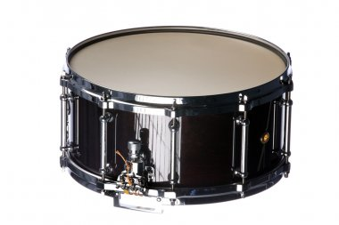Snare Drum Isolated on White