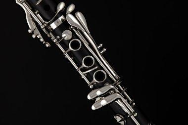 Soprano Clarinet Isolated o Black