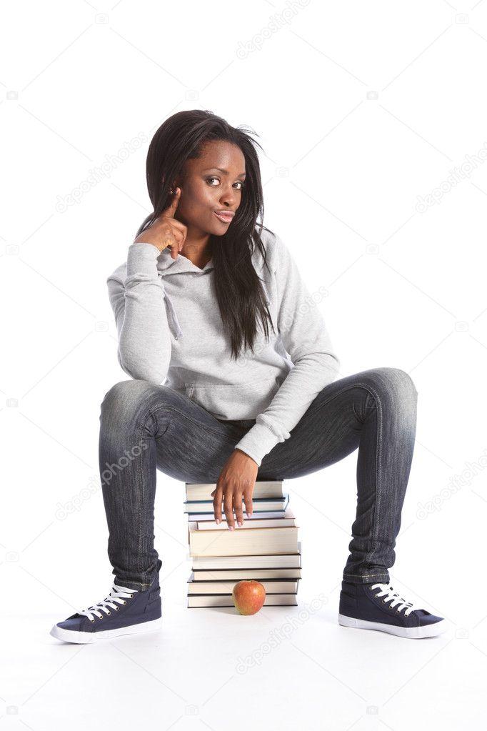 zwarte tiener