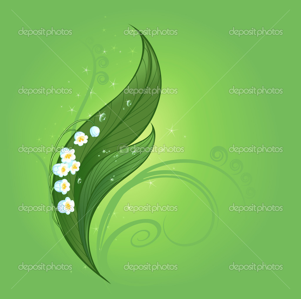 Magic lily of the valley