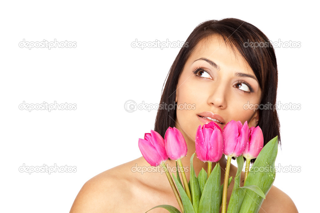 vintage-video-beautiful-naked-girl-on-the-tulip-flower