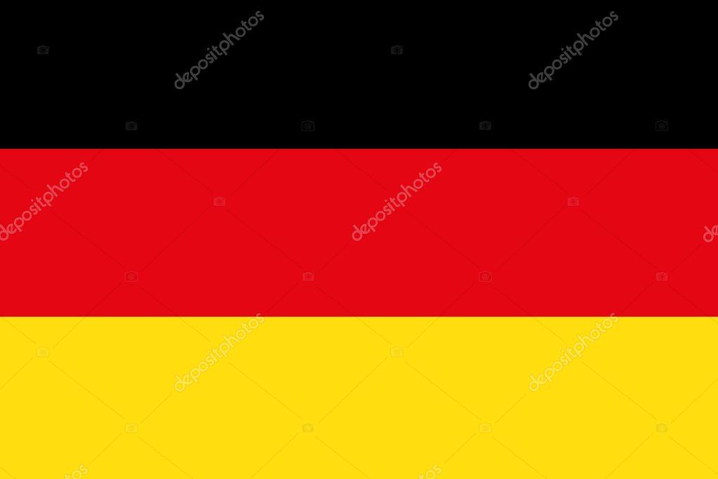 vlag van duitsland — stockvector © danystock #6461533