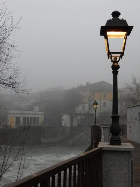 Misty day