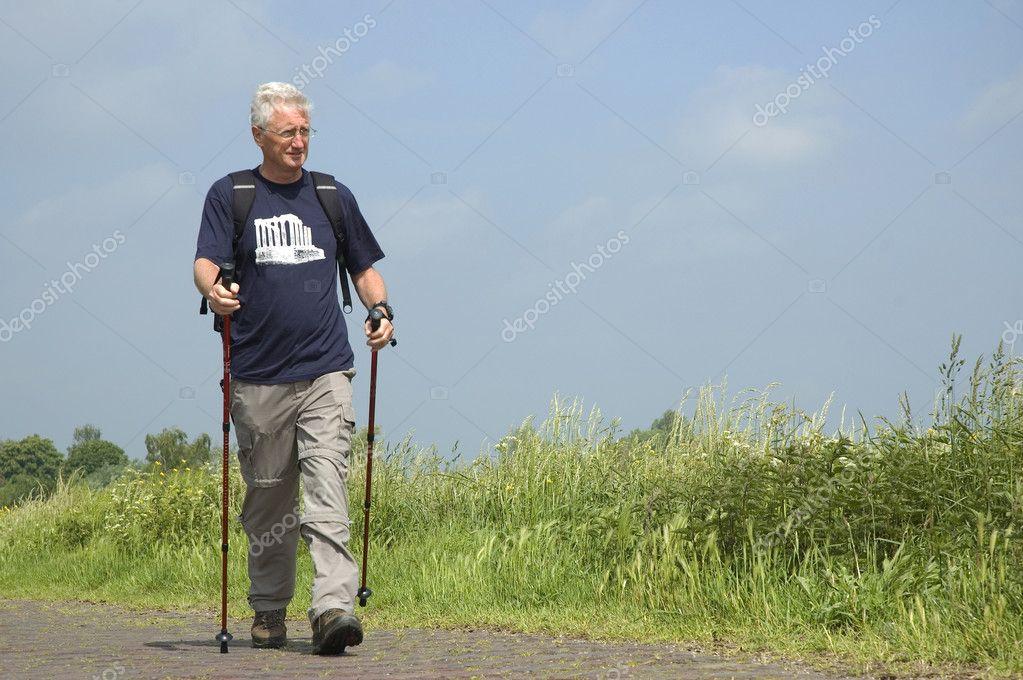 Walking Senior