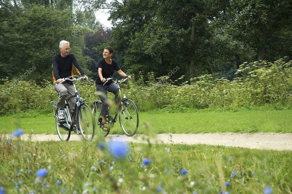 Seniors Biking