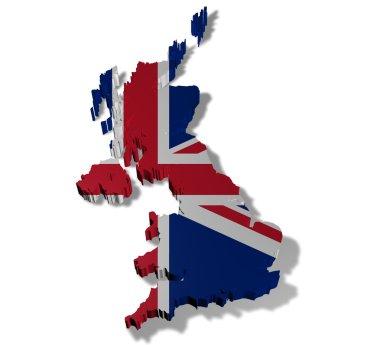 Illustration of united kingdom of great britain