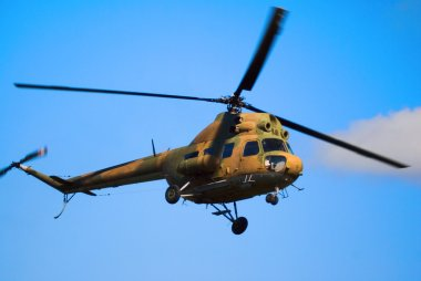 Russian helicopter MI-8