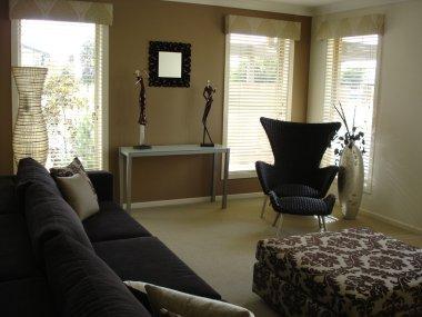 Luxury executive house interior