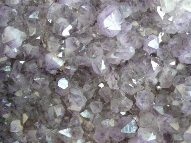 Pale Purple crystals
