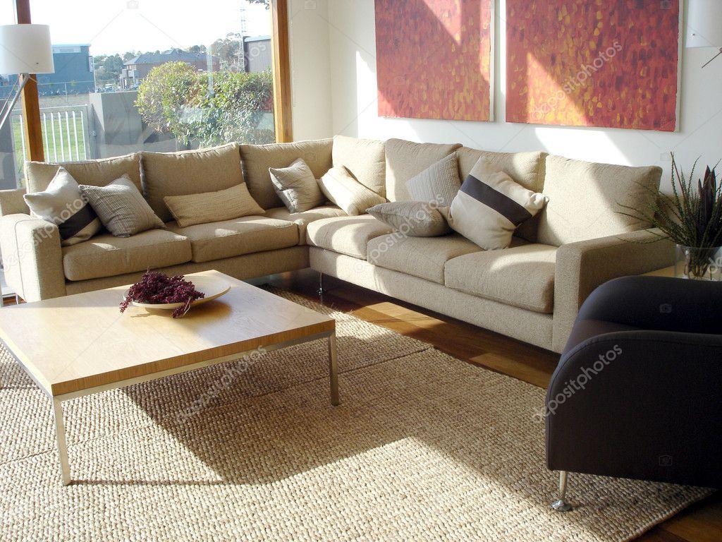 moderne Familienzimmer — Stockfoto © scarfe #6222481