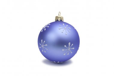 New Year Christmas blue toy