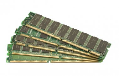 RAM memory isolated